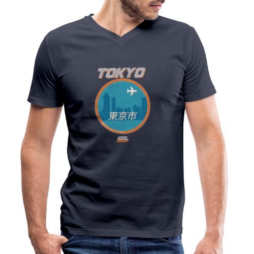 Tokyo - Männer Bio-T-Shirt mit V-Ausschnitt von Stanley & Stella