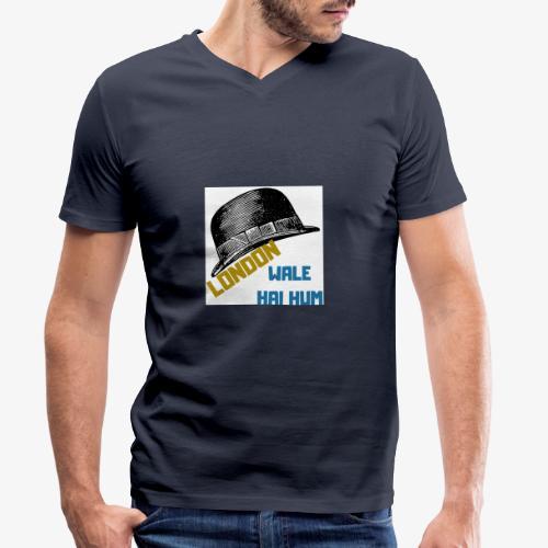 LONDON WALE - Ekologisk T-shirt med V-ringning herr från Stanley & Stella