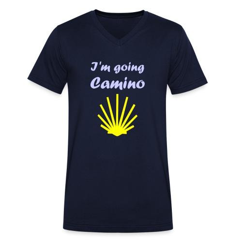 Going Camino - Økologisk Stanley & Stella T-shirt med V-udskæring til herrer