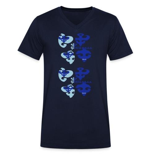 Godliness heaven - Ekologisk T-shirt med V-ringning herr från Stanley & Stella