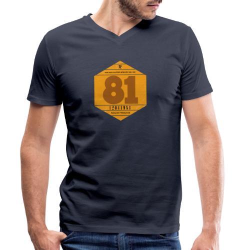 Vignette automobile 1981 - T-shirt bio col V Stanley & Stella Homme