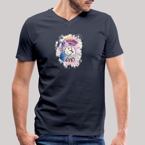 Es beginnt in Dir - Männer Bio-T-Shirt mit V-Ausschnitt von Stanley & Stella