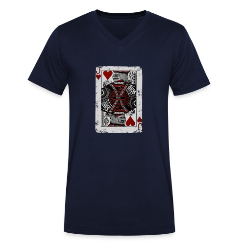 Joker Mummy - T-shirt ecologica da uomo con scollo a V di Stanley & Stella