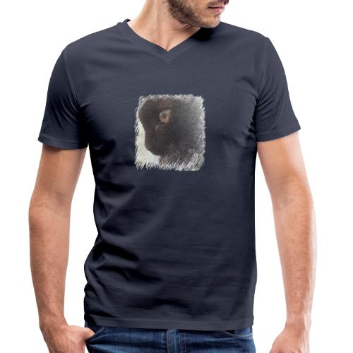chat - T-shirt bio col V Stanley & Stella Homme