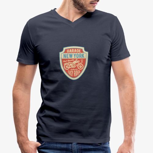 Garage New York - T-shirt bio col V Stanley & Stella Homme