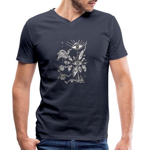 FantasieWelt - Männer Bio-T-Shirt mit V-Ausschnitt von Stanley & Stella