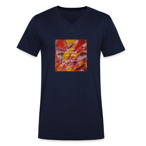 Geh selbst - Männer Bio-T-Shirt mit V-Ausschnitt von Stanley & Stella