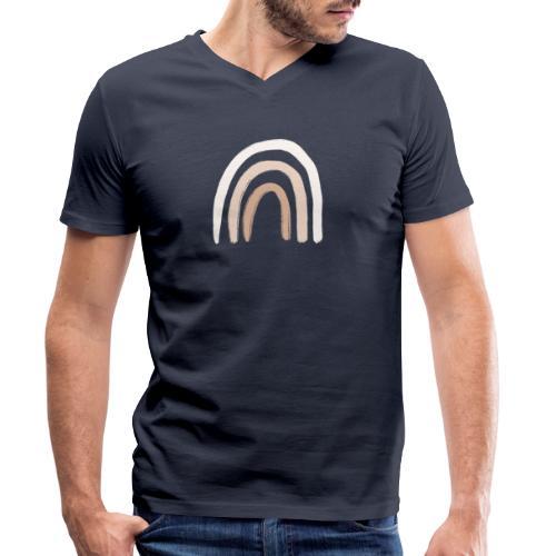 Bono Regenbogen #BohoKollektion - Männer Bio-T-Shirt mit V-Ausschnitt von Stanley & Stella