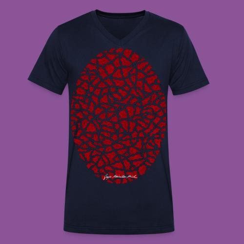 Nervenleiden 43 - Männer Bio-T-Shirt mit V-Ausschnitt von Stanley & Stella