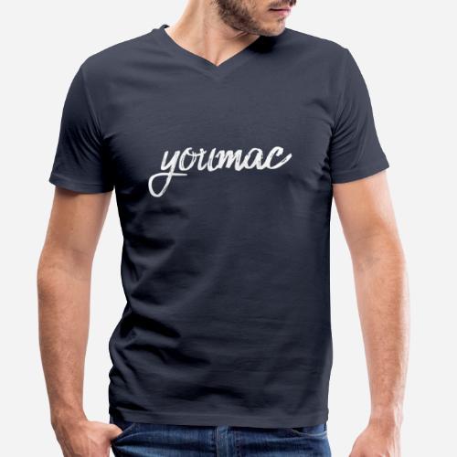 youmac by silicon apparel - Männer Bio-T-Shirt mit V-Ausschnitt von Stanley & Stella