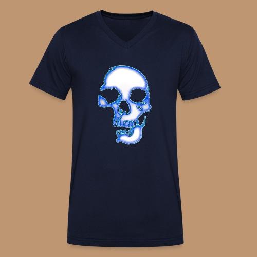 Skull 5 - Männer Bio-T-Shirt mit V-Ausschnitt von Stanley & Stella