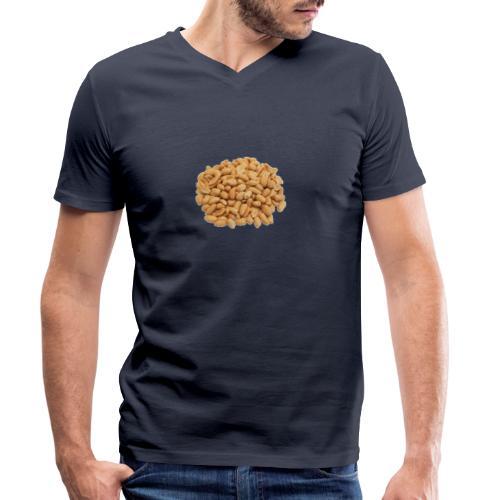 Pinda's - Mannen bio T-shirt met V-hals van Stanley & Stella