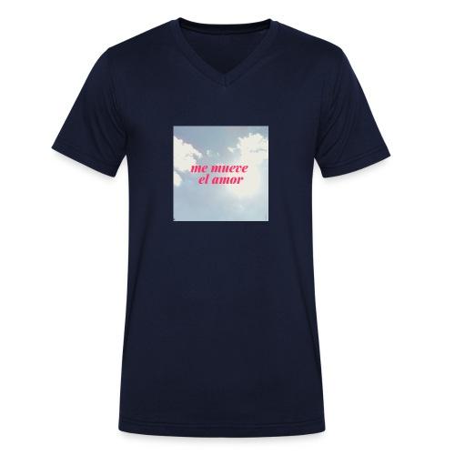Me mueve el amor - Camiseta ecológica hombre con cuello de pico de Stanley & Stella