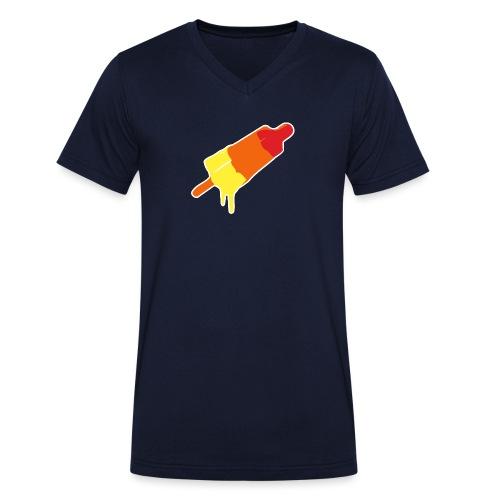 Raket - Mannen bio T-shirt met V-hals van Stanley & Stella