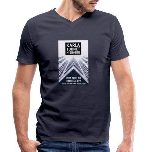 Karlatornet - Ekologisk T-shirt med V-ringning herr från Stanley & Stella