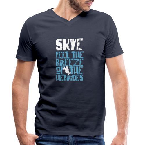 Skye - Feel the Breeze of the Hebrides - Männer Bio-T-Shirt mit V-Ausschnitt von Stanley & Stella