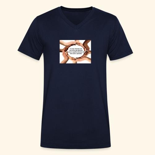 IMG 20170515 174306 - T-shirt ecologica da uomo con scollo a V di Stanley & Stella