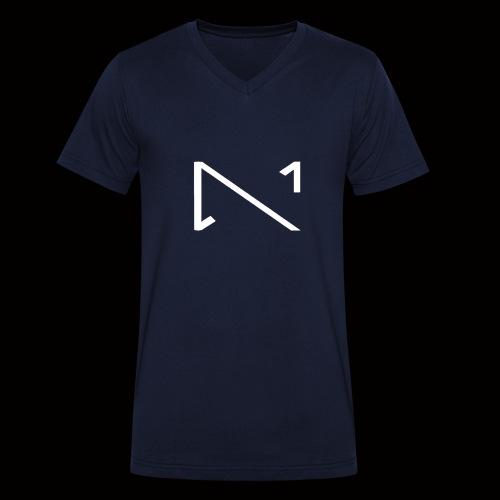 MKS Final Edition Design 4 png - Männer Bio-T-Shirt mit V-Ausschnitt von Stanley & Stella