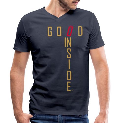GOOD INSIDE - Men's Organic V-Neck T-Shirt by Stanley & Stella