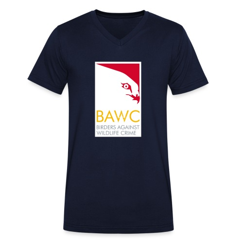 BAWC Logo - Men's Organic V-Neck T-Shirt by Stanley & Stella