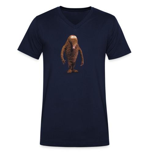 Hempel unterm Sofa - Männer Bio-T-Shirt mit V-Ausschnitt von Stanley & Stella