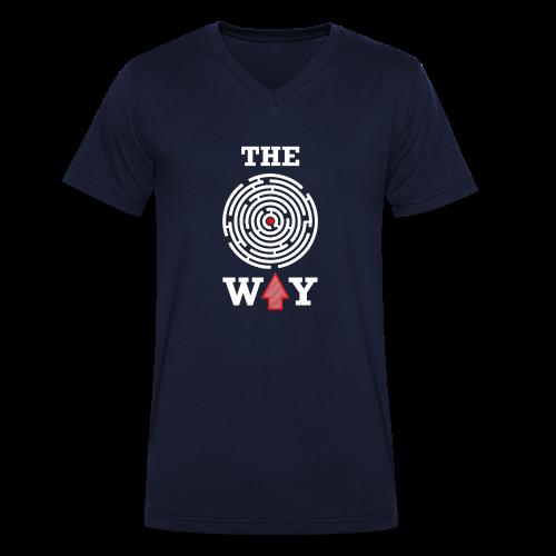 The Way - Männer Bio-T-Shirt mit V-Ausschnitt von Stanley & Stella
