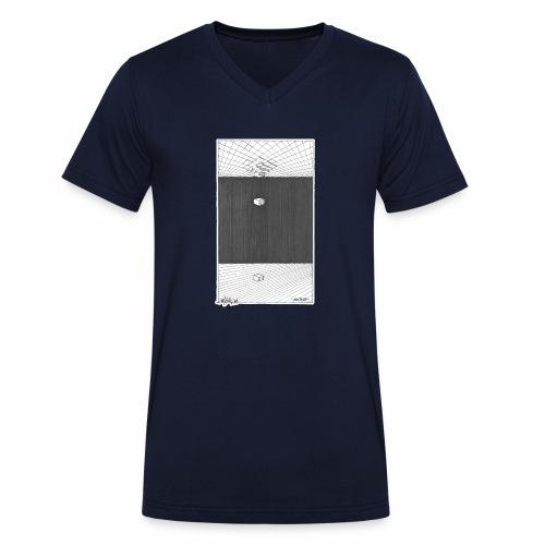 ALONE - Men's Organic V-Neck T-Shirt by Stanley & Stella
