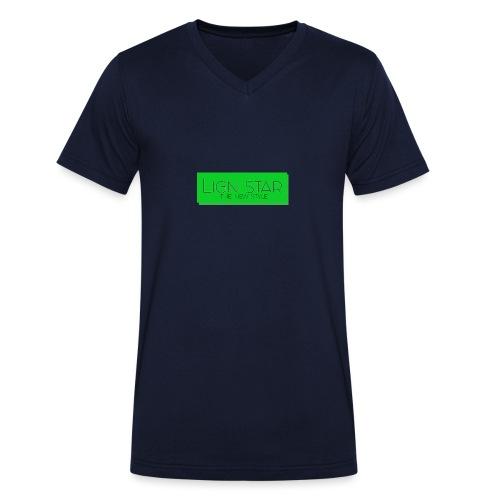Untitled 3 png - Økologisk Stanley & Stella T-shirt med V-udskæring til herrer