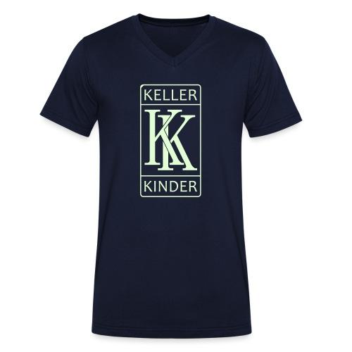 kk logo vektor - Männer Bio-T-Shirt mit V-Ausschnitt von Stanley & Stella