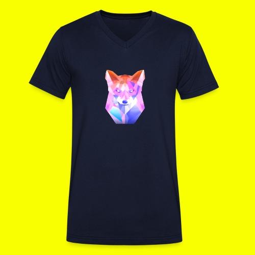 Nemirion Logo - Mannen bio T-shirt met V-hals van Stanley & Stella