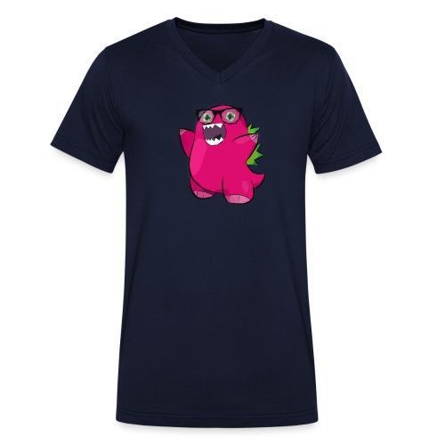 Bozilla - Männer Bio-T-Shirt mit V-Ausschnitt von Stanley & Stella