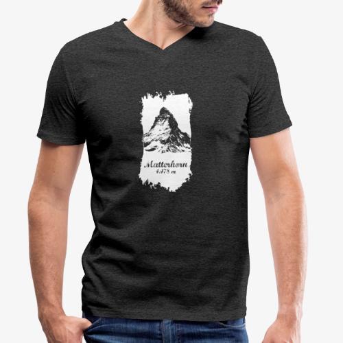 Matterhorn - Cervino - Men's Organic V-Neck T-Shirt by Stanley & Stella