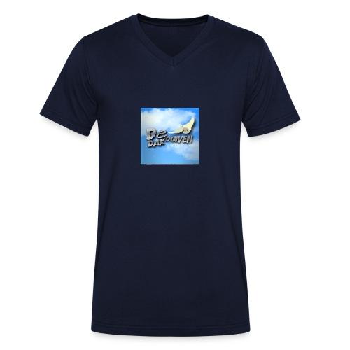 DakDuiven shirt - Mannen bio T-shirt met V-hals van Stanley & Stella
