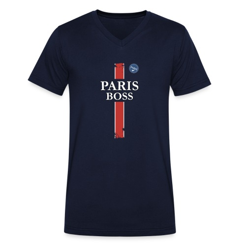 parisfinal11.png - T-shirt bio col V Stanley & Stella Homme