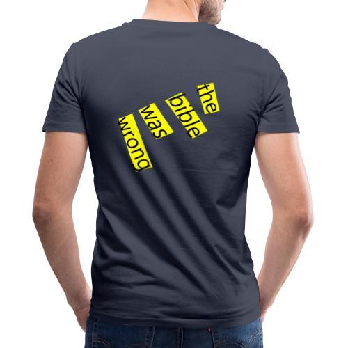 the bible was wrong - Männer Bio-T-Shirt mit V-Ausschnitt von Stanley & Stella