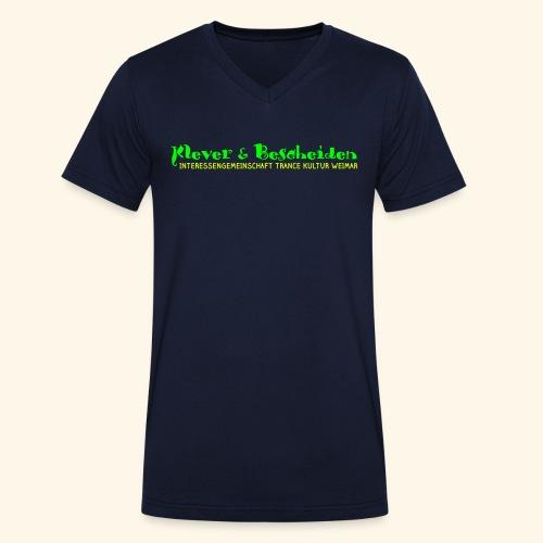 K&B WORD - Männer Bio-T-Shirt mit V-Ausschnitt von Stanley & Stella
