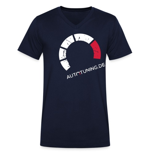 AUTOTUNING_LOGO_GRUNGE - Männer Bio-T-Shirt mit V-Ausschnitt von Stanley & Stella