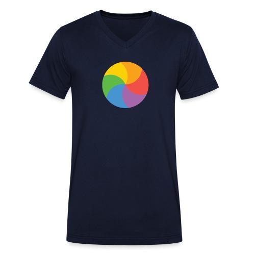 BeachBal - Mannen bio T-shirt met V-hals van Stanley & Stella
