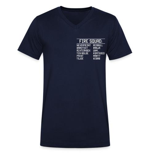 8DArmyTekst v001 - Mannen bio T-shirt met V-hals van Stanley & Stella