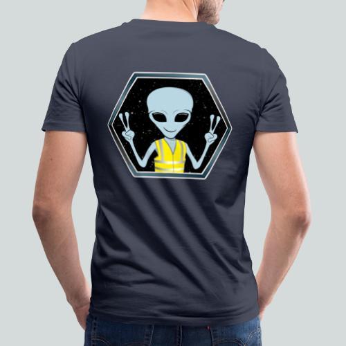 Extraterrestre Gilet jaune - T-shirt bio col V Stanley & Stella Homme