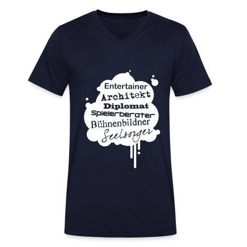 Motiv Architekt Sei alles werde Erzieher - Männer Bio-T-Shirt mit V-Ausschnitt von Stanley & Stella