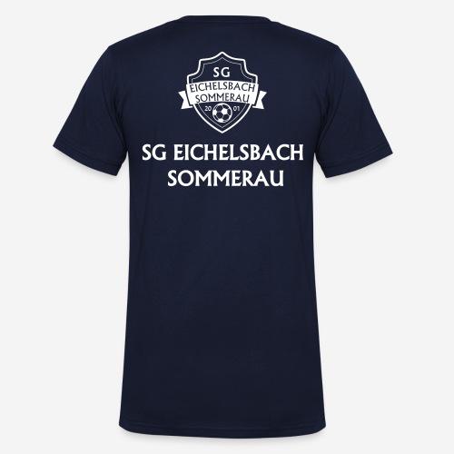 sg_text gerade_1 - Männer Bio-T-Shirt mit V-Ausschnitt von Stanley & Stella
