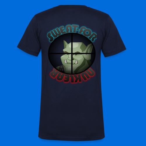 SweatForNuklear - Männer Bio-T-Shirt mit V-Ausschnitt von Stanley & Stella