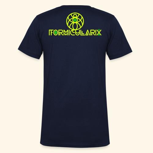 formi 2color - Männer Bio-T-Shirt mit V-Ausschnitt von Stanley & Stella