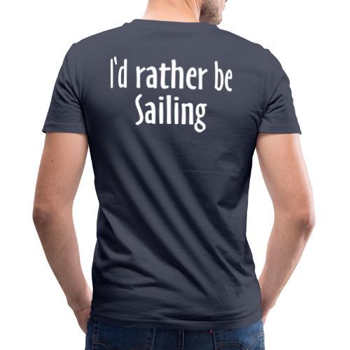 I'd rather be Sailing - Segeln Segler Segel - Männer Bio-T-Shirt mit V-Ausschnitt von Stanley & Stella