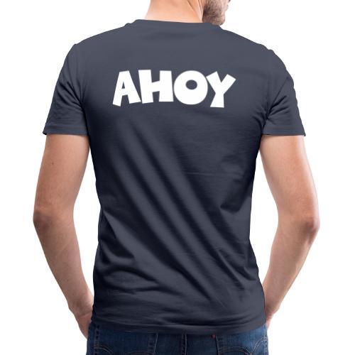 Ahoy Segel Segeln Segler Segelspruch - Männer Bio-T-Shirt mit V-Ausschnitt von Stanley & Stella