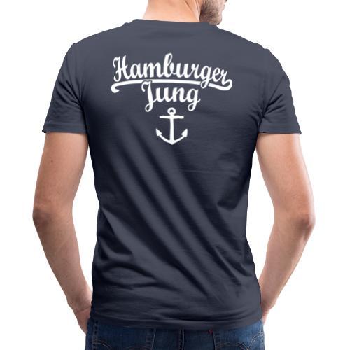 Hamburger Jung Klassik Hamburg - Männer Bio-T-Shirt mit V-Ausschnitt von Stanley & Stella