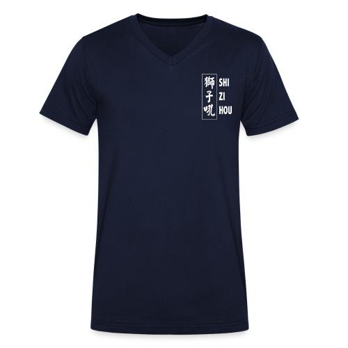 uniform logo - Mannen bio T-shirt met V-hals van Stanley & Stella