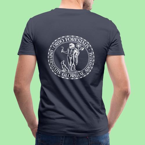 Ordo Forestalis Weiß - Männer Bio-T-Shirt mit V-Ausschnitt von Stanley & Stella