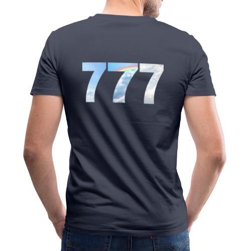 777 un nombre de chance et spirituel. - T-shirt bio col V Stanley & Stella Homme